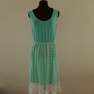 Reborn J Sleeveless Cottage Core Sheath Dress